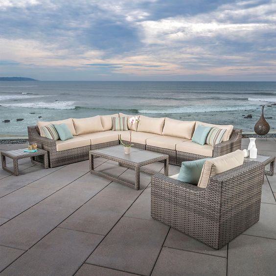 Kingston 10-piece Modular Seating Set by Mission Hills