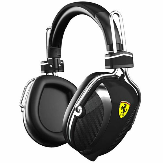 Ferrari and Logic3 for the P200 Scuderia Headphones