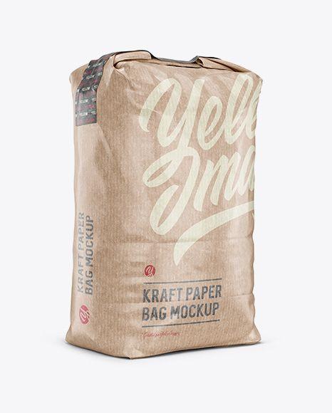 Download 3 Kg Kraft Paper Bag Mockup Halfside View In Bag Sack Mockups On Yellow Images Object Mockups Bag Mockup Mockup Free Psd Free Psd Mockups Templates