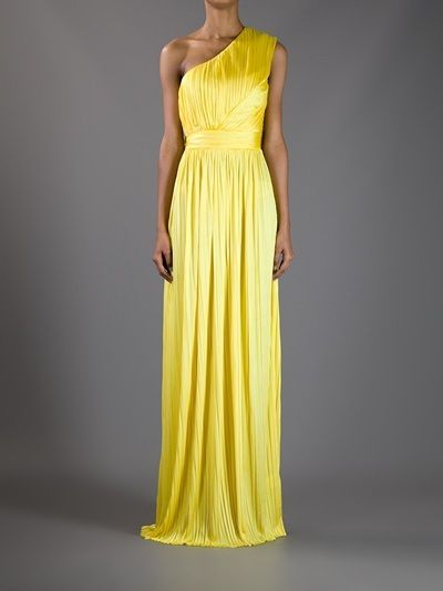 One Shoulder Evening Dress by Givenchy