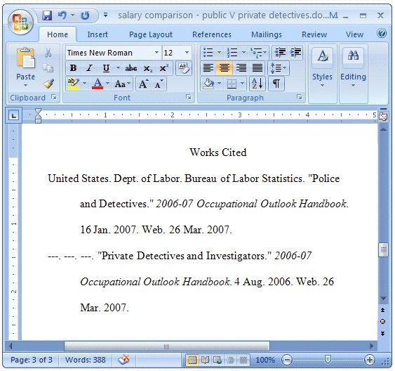 Work Cited Bib | Mla Works Cited Format For Websites With No ...