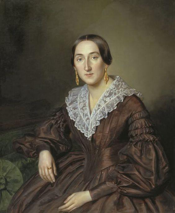 fripperiesandfobs: N.V. Evreinov 1840 Petr Zabolotskiy