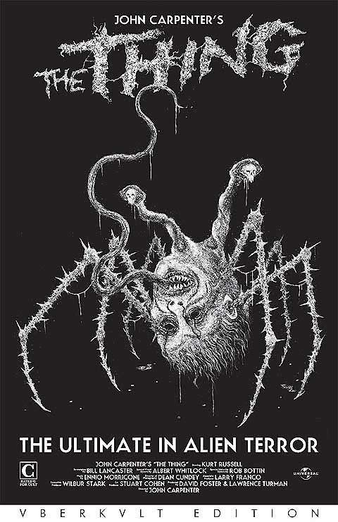 Justin Bartlett's The Thing and Monarch tour posters