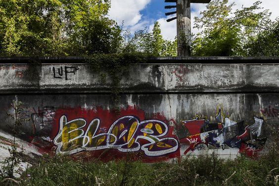 Streetart / Graffiti, Location: Prag Barrandov / Tschechien, Photography: Wolfgang Steidle