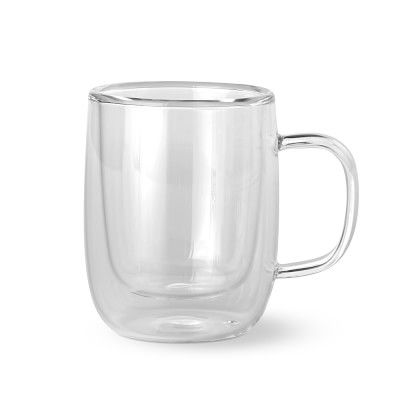 Double-Wall Glass Espresso Mugs, Set of 4 #williamssonoma