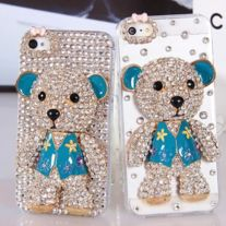 on sale $10 Free Shipping  Package : 1 not full rhinestone case  If you want full rhinstone on the case please check my store  Thanks.