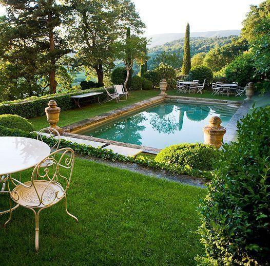 French Garden Ideas Swimming Pool European Garden Pool Landscaping European Garden French Garden