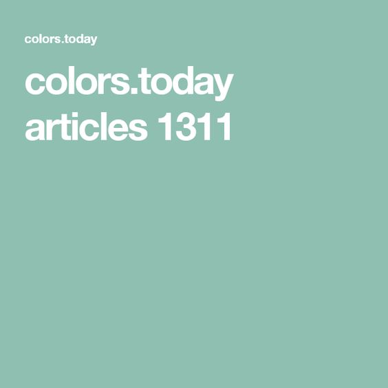 colors.today articles 1311