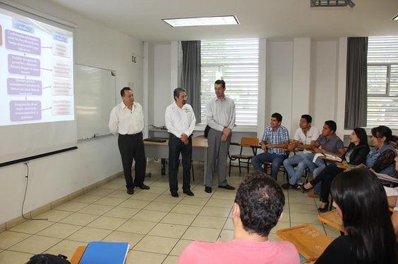 El rector de la Universidad Michoacana realizó un recorrido de supervisión por las facultades de Ingeniería Química, Economía y Biología, acompañado de sus respectivos – Morelia, Michoacán, 24 de mayo ...