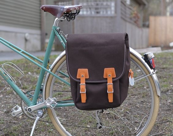 Philosophy Burnside Pannier, Royal H Mixte by Lovely Bicycle!, via Flickr