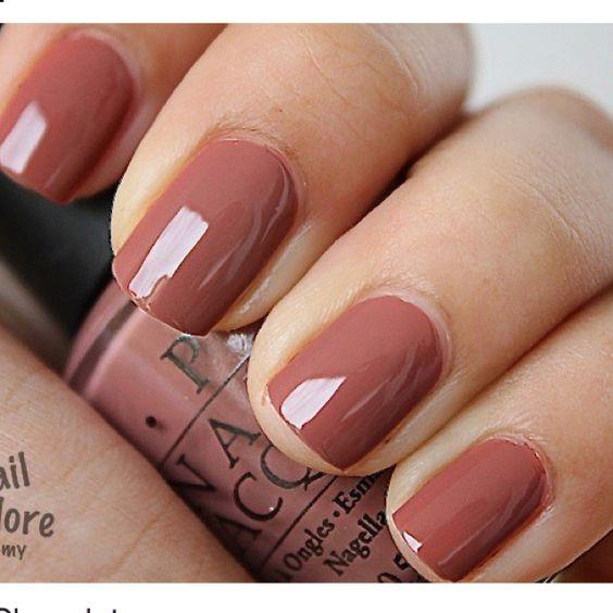 Opi Nail Polish Mauve Color: Mauve Nail Color - Pretty For Fall And Winter