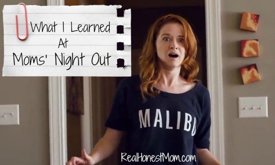 What I Learned from the movie #MomsNightOut after our moms group went out to see it. No spoilers!