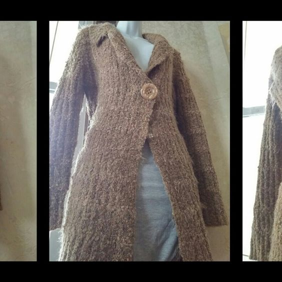 """Gorgeous...  Knee Length Belted Sweater In Excellent Condition / NWOT   See addl pics  Prices are NOT Set for a Quick Sale,  Prices are Set So Listings can be Seen,            Hoping for  """"Likes""""                           *Prices Drop when there is Enough Interest. NADO Sweaters Cardigans"""
