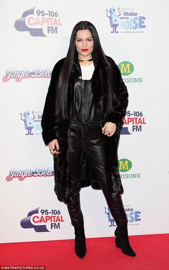 Oops! Jessie J seems to have mixed up her calendar commitments when ...