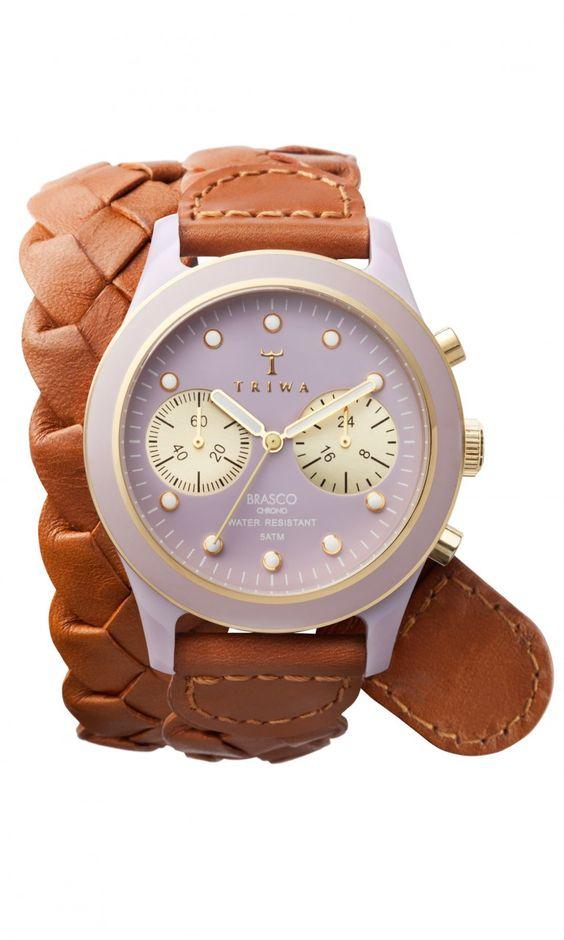 WANT WANT WANT   Triwa Loma Braided Watch