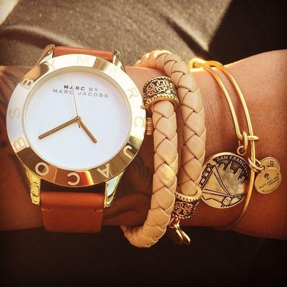 ALEX AND ANI arm candy! #charmedarms #wristgame