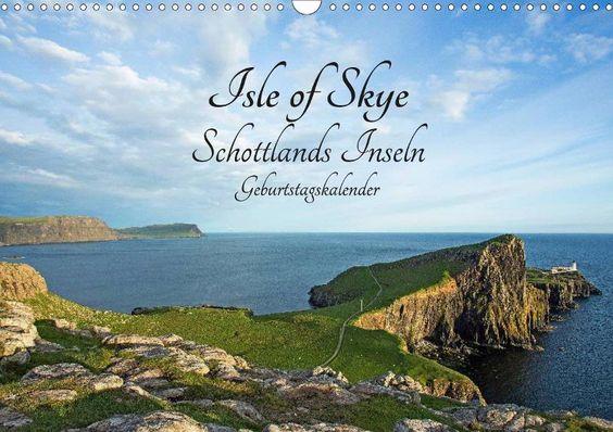 Isle of Skye Schottlands Inseln Geburtstagskalender - CALVENDO