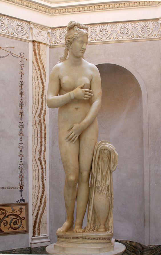 Venus Capitolina en los Museos Capitalinos en Roma