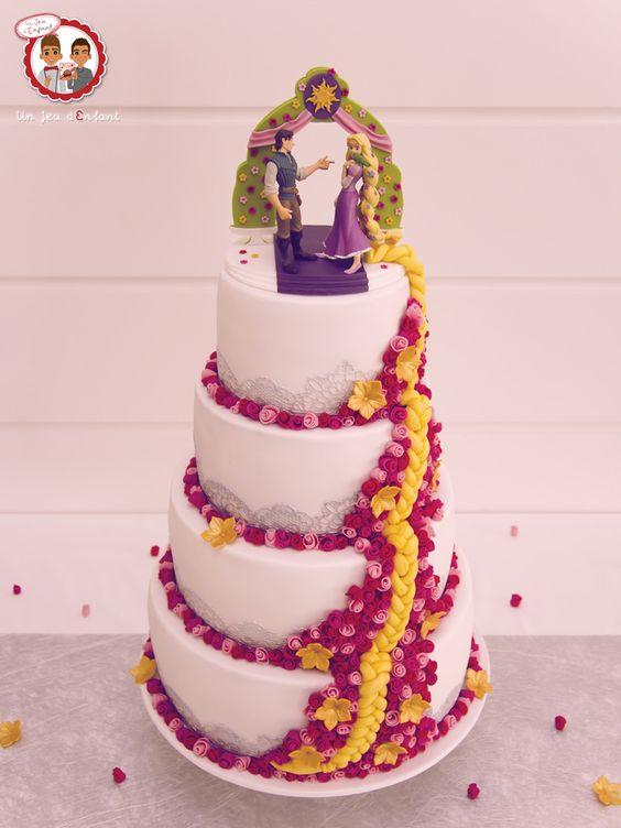 ... disney mariage mariage nantes gâteaux gâteaux de mariage raiponce