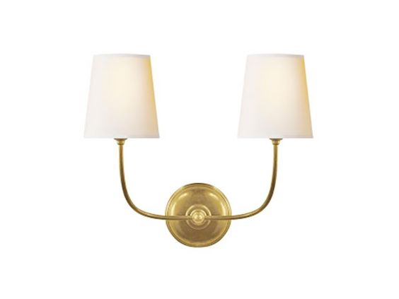 High Street Market: 3rd Floor Lighting Selectionsvisual Comfort Vendome Double Wall Sconce ...