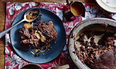 Simon Hopkinson's sticky toffee pudding