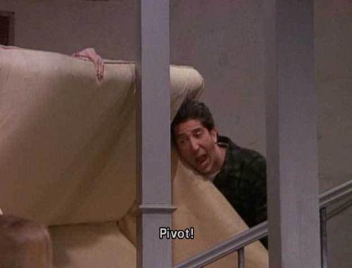 """Pivot! I <3 """"Friends."""""""