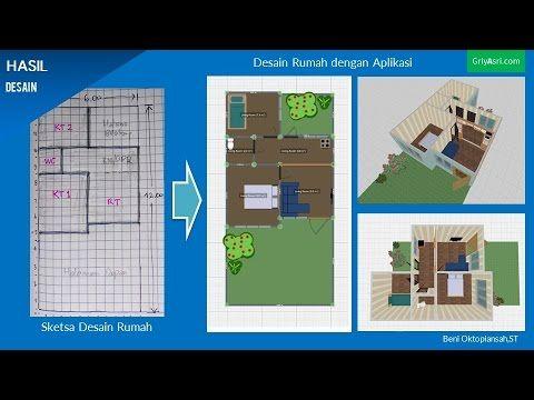 Tutorial Cara Membuat Desain Rumah Dengan Aplikasi Planner 5 D Bagian 1 Youtube Desain Desain Rumah Aplikasi
