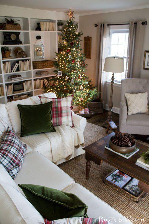 Cozy Christmas Living Room Cozy Christmas Living Room Christmas