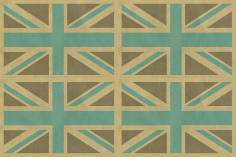 union_jack_fabric fabric by fleamarkettrixie on Spoonflower - custom fabric