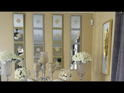 Diy Dollar Tree Diy Mirrored Wall Art Decor Zgallerie Inspired Diy Home Decor 2018 Youtube Dollar Tree Mirrors Diy Mirror Dollar Tree Diy