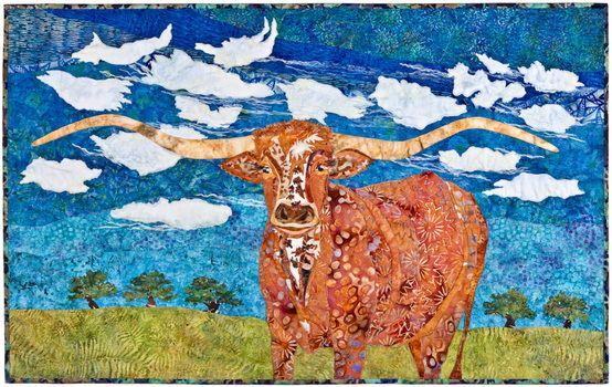 Longhorn pattern by Susan Cranshaw