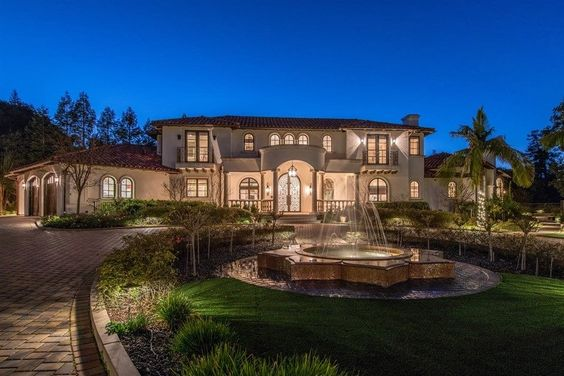 It S An Incredible Life At This Elegant Monte Sereno Estate Tucked Away In One Of Silicon Valleys Most Exclusive Ne Mansions For Sale Mansions Property Design