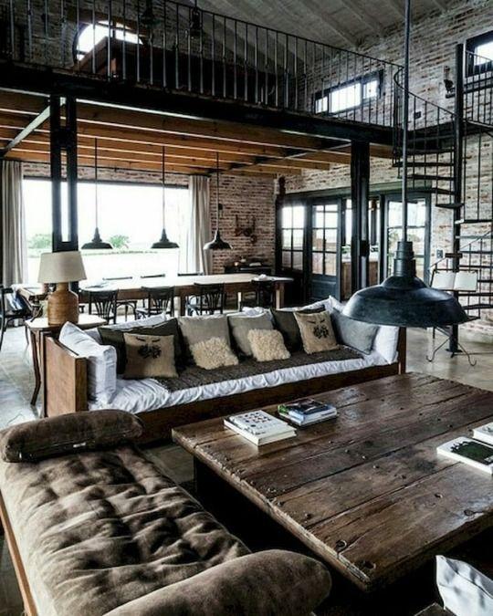 Home Decor Outlets Interior Design Loft Living Room Design Loft