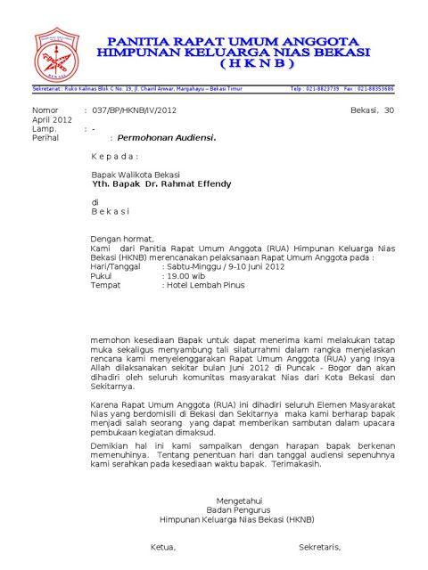 Contoh Surat Pengunduran Diri Sebagai Ketua Karang Taruna ...