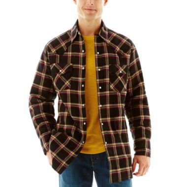 Ely Cattleman® Quilted Flannel Shirt Jacket–Big & Tall found at ...