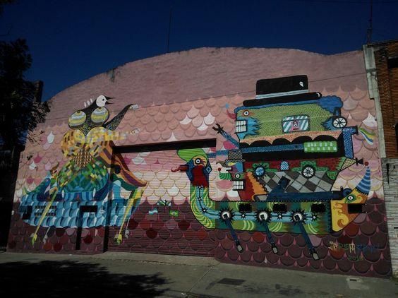 Mural en Villa Maipu, Buenos Aires. #streetArt