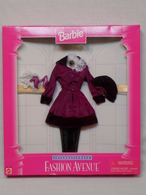 Buy Barbie Internationale Fashion Avenue Mattel Fall Outfit Clothes Fashion Fashion Avenue Fall Outfits