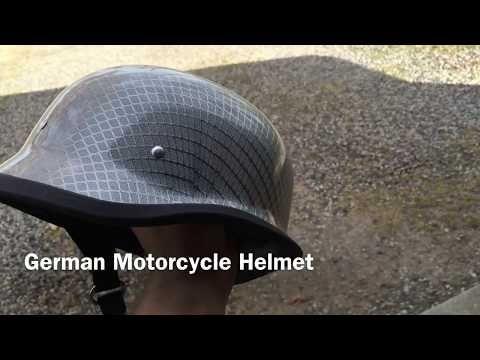 Chrome Mesh German Motorcycle Helmet German Motorcycle Helmet Motorcycle Helmets Carbon Fiber Motorcycle Helmet