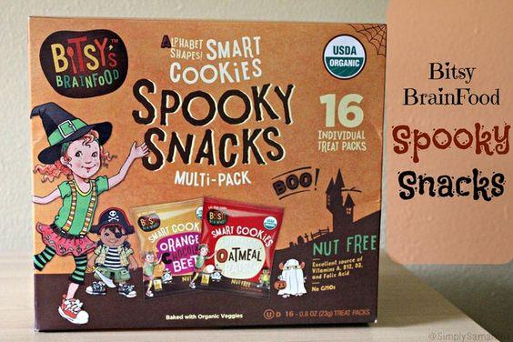 Bitsy BrainFood Spooky Snacks