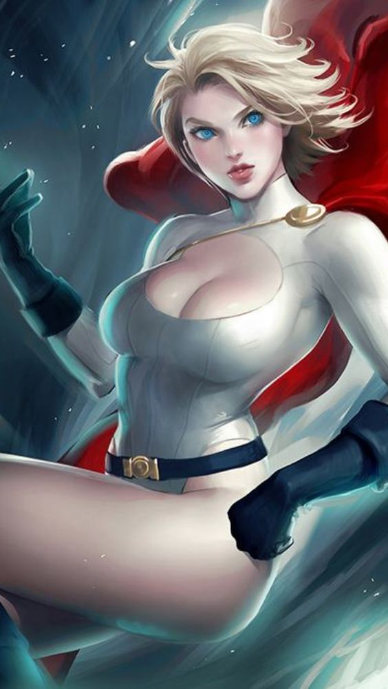 DC sexy Power GIrl fan art - Google Search