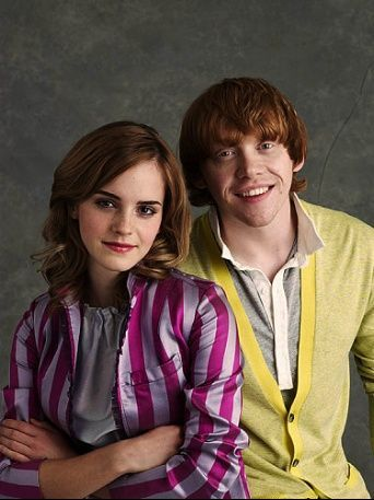 Rupert Grint and Emma Watson | In dreams, we enter a world ...