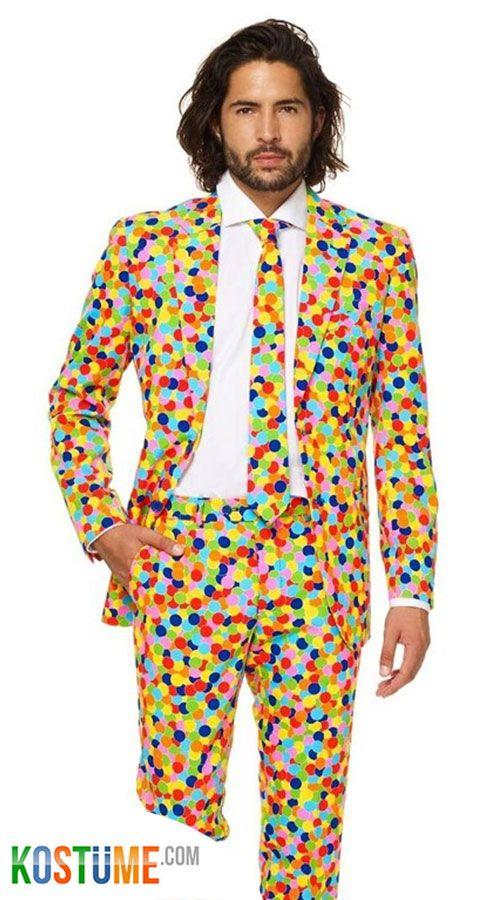 OppoSuits Confetteroni Anzug | Anzug, Stylische männer