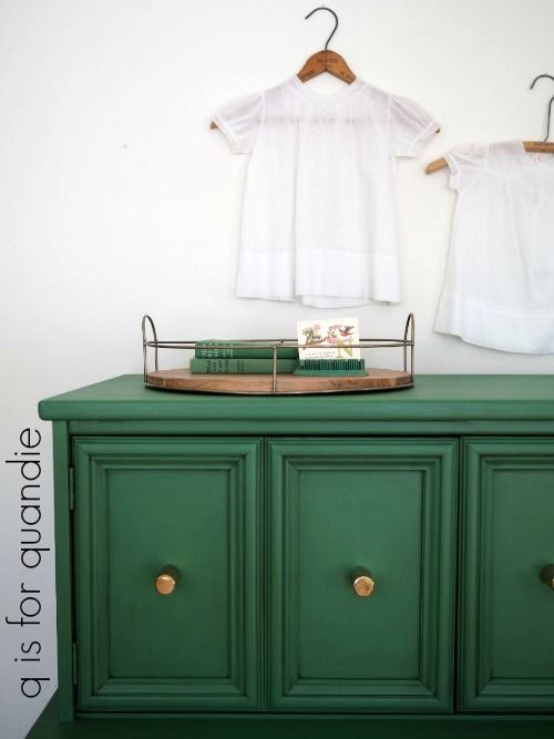 Young At Heart Green Painted Furniture Colorful Furniture