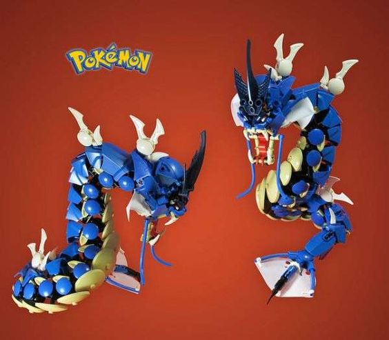 Mike Nieves Crafts Pokemon Figurines Using LEGO Blocks #lego #toys