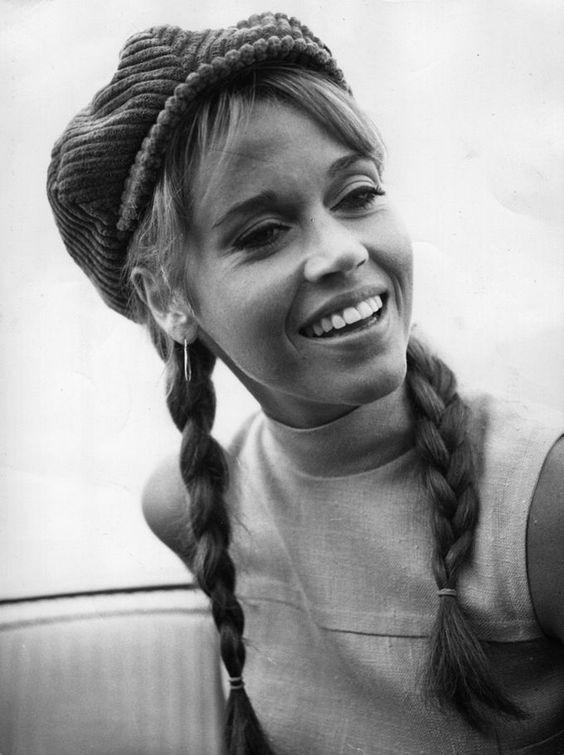 Las trenzas y las mujeres - Harper's Bazaar Jane Fonda