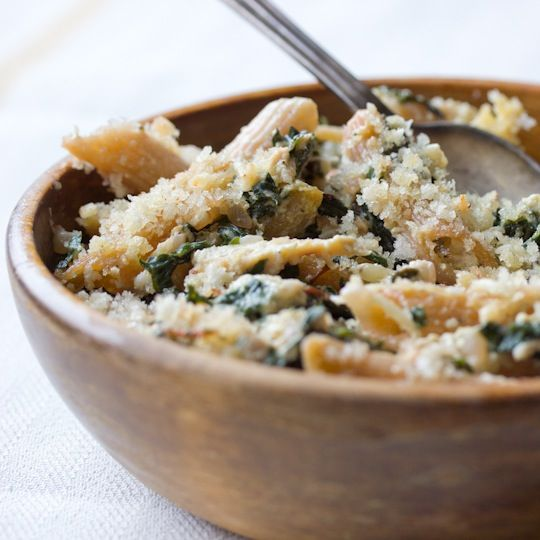 Chicken and Swiss Chard Pasta bake- made this on 1.28.12