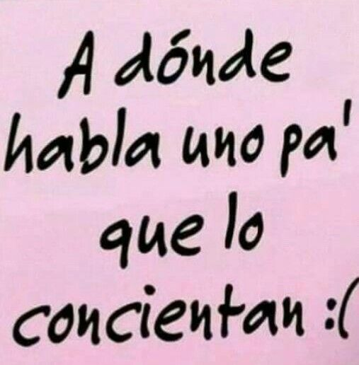 A donde?