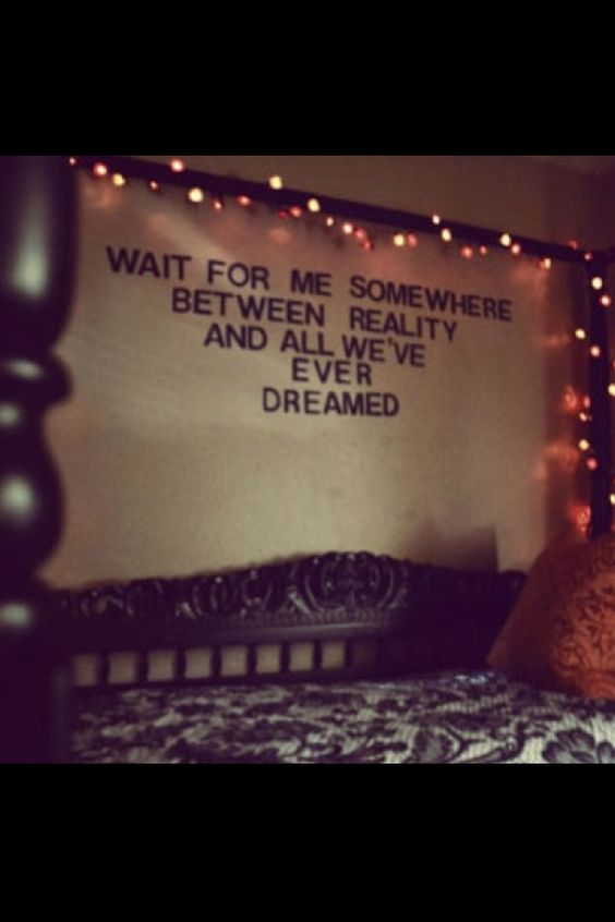 tumblr bedrooms with lights and quotes black wall letters pick your