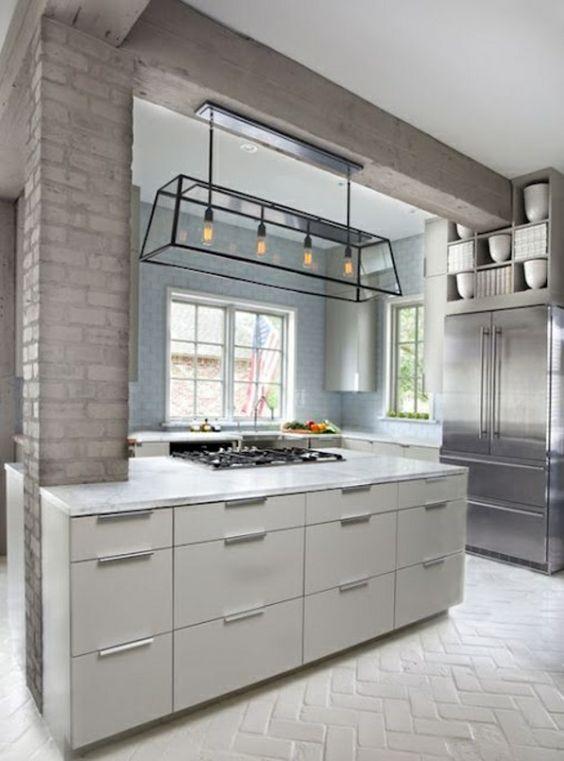 Moderne Küchen Mit Kochinsel Kochinsel Maße Stauraum Küche   Unternehmen  Moderne Kucheneinrichtung