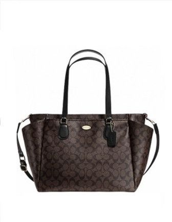 The coach diaper bag I got. I love it so much that I'm using it as a purse right now.